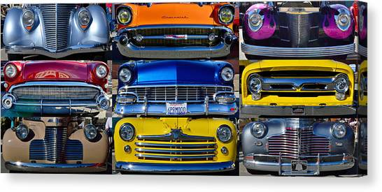 Front Ends Canvas Print