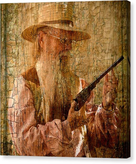 Frontiersman Canvas Print