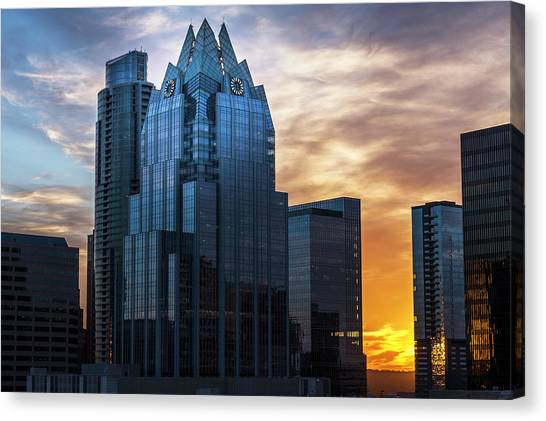Frost Bank Tower Canvas Print