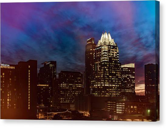 Frost Tower Canvas Print