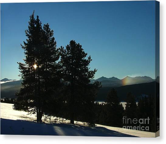 Frostbow Canvas Print