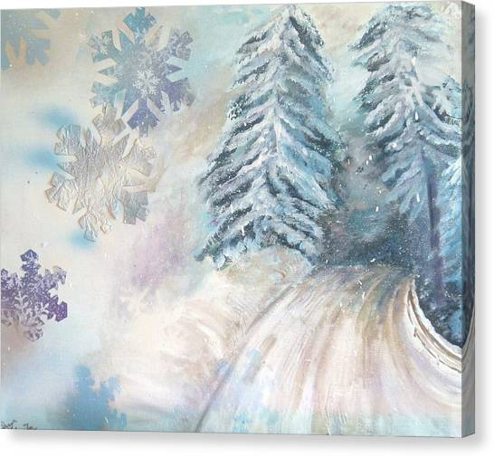 Frosted Secrets Of Winter Canvas Print