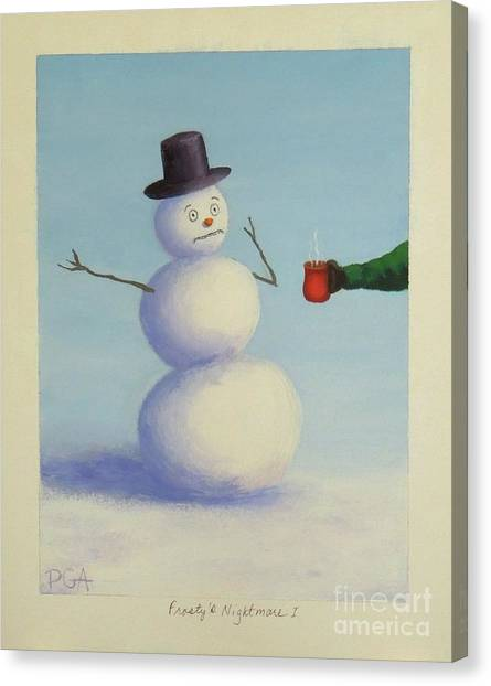 Frosty's Nightmare I Canvas Print