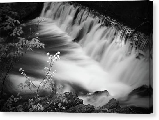 Frothy Falls Canvas Print