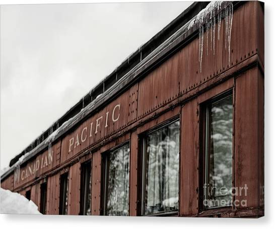 Canvas Print featuring the photograph Frozen In Time by Brad Allen Fine Art