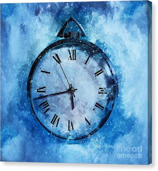 Analog Canvas Print - Frozen In Time by Ian Mitchell