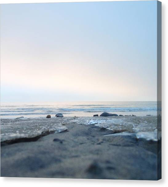 Frozen Sands Canvas Print