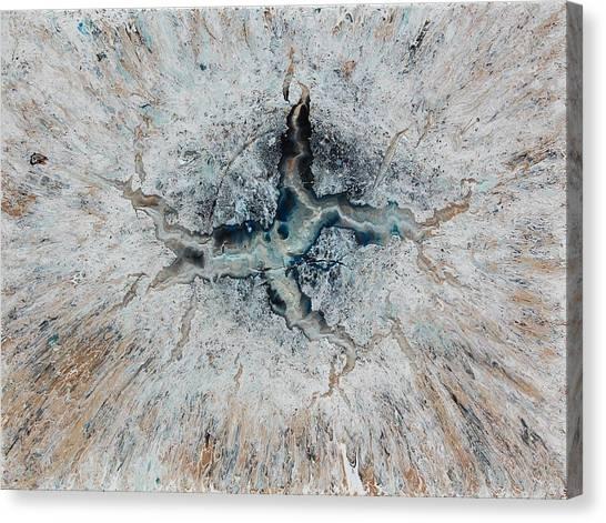 Frozen Universe Canvas Print