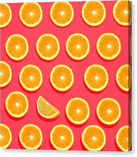 Pattern Canvas Print - Fruit 2 by Mark Ashkenazi