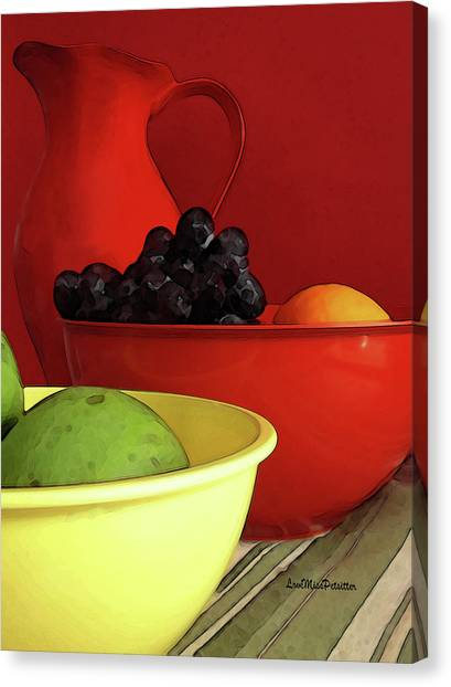 Fruit Art  Canvas Print