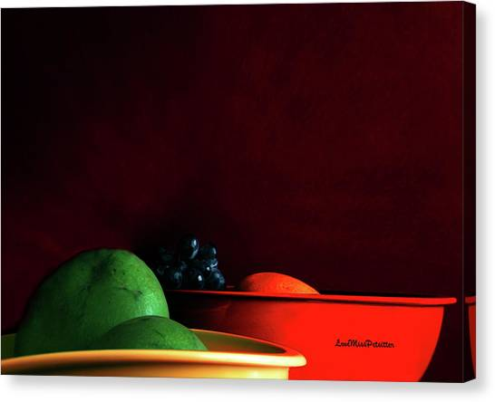 Fruit Art Photograph Canvas Print