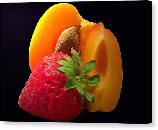 Fruit Display Canvas Print by Amanda Vouglas