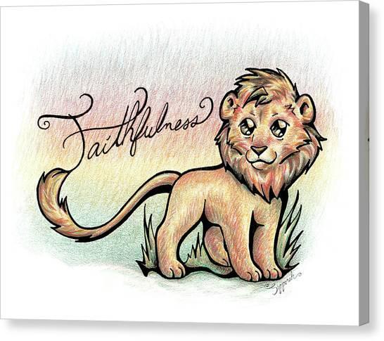 Fruit Of The Spirit Faithfulness Canvas Print