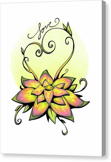 Fruit Of The Spirit Series 2 Love Canvas Print