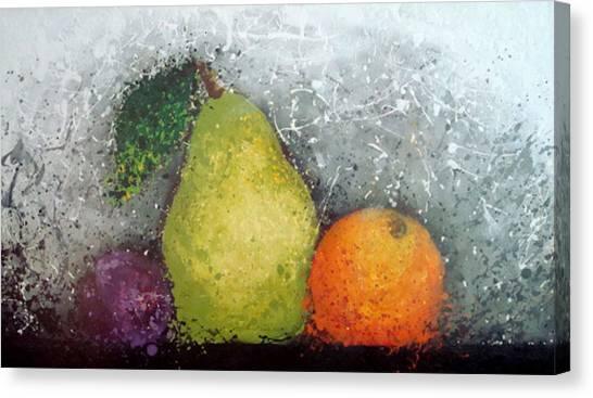 Fruit Canvas Print by Paula Weber