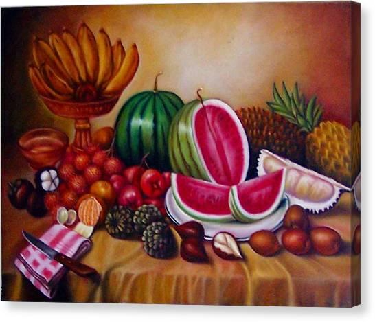 Fruits Canvas Print by Yuki Othsuka