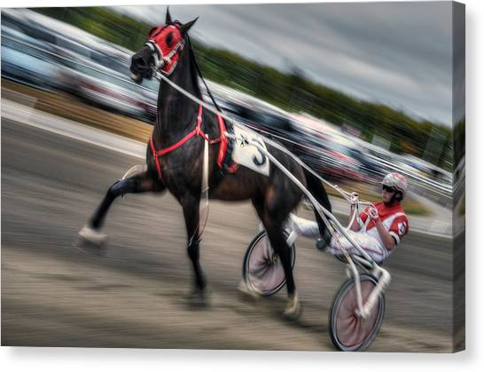 Fryburg Fair Races Canvas Print