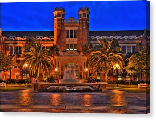 Florida State Fsu Canvas Print - Fsu Westcott by Alex Owen