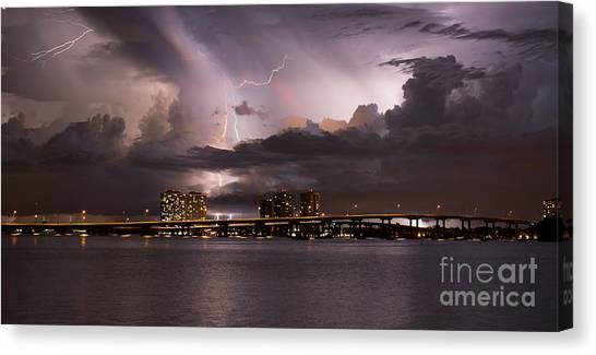 Ft Myers Nights Canvas Print