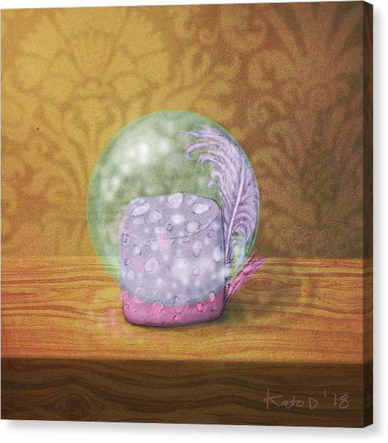 Canvas Print - Ftf In A Bubble by Kato D