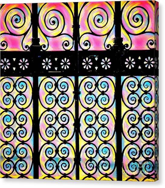 Fuchsia Gate  Canvas Print