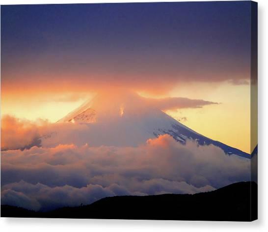 Fuji Sam Canvas Print