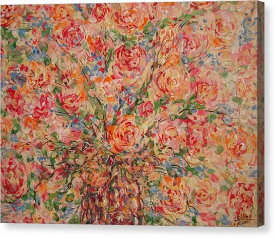 Full Bouquet. Canvas Print