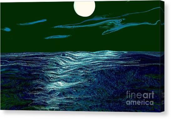 Full Moon 3 Canvas Print