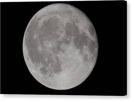 Full Moon Canvas Print by Andre Goncalves
