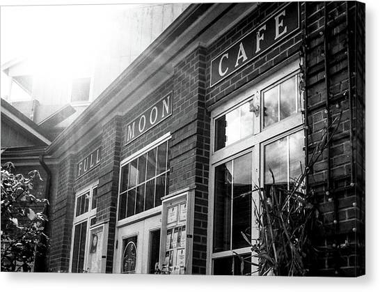 Full Moon Cafe Canvas Print