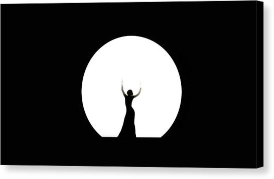 Full Moon Dance Canvas Print