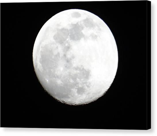 Exploramum Canvas Print - Full Moon by Exploramum Exploramum