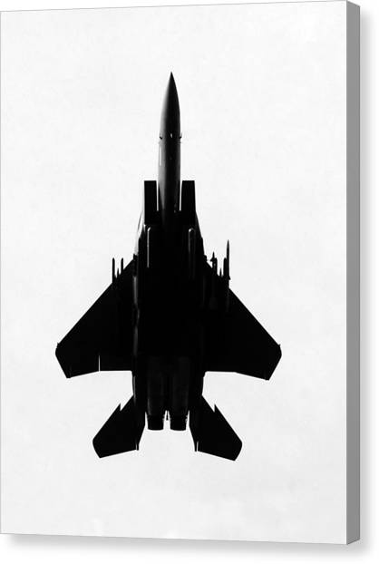 Missles Canvas Print - Fully Loaded by David Lee Thompson