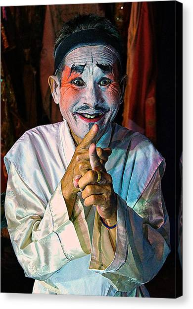 Fun At The Opera Canvas Print
