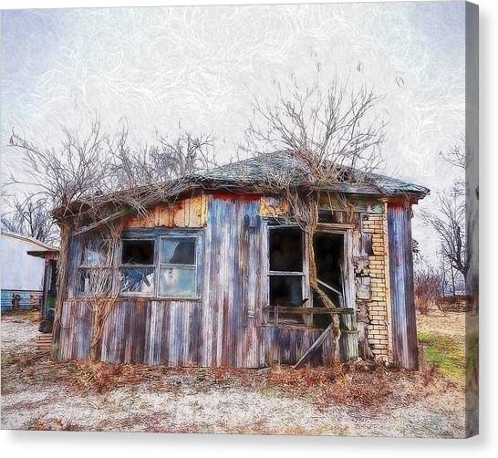 Funky Shack Canvas Print