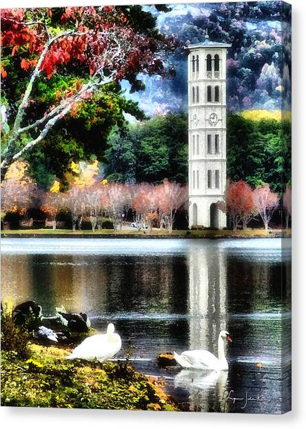 Furman University Bell Tower Canvas Print