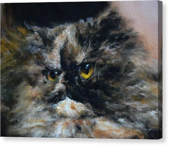 Furry 2 Canvas Print