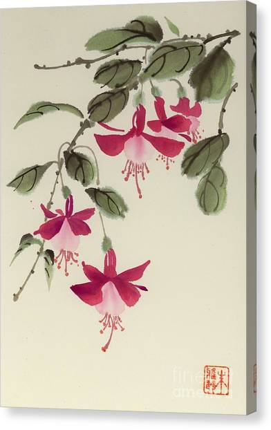 Fuschia Pink Canvas Print