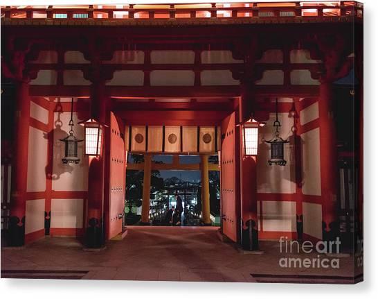 Fushimi Inari Taisha, Kyoto Japan 2 Canvas Print