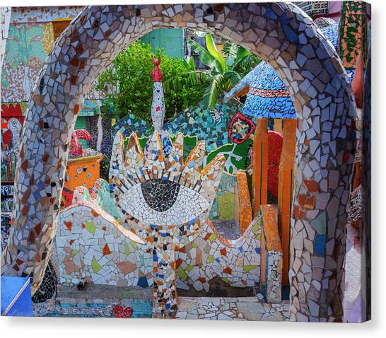 Fusterlandia Havana Cuba Canvas Print