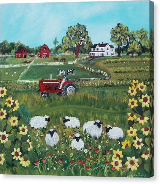 Future Farmer Canvas Print