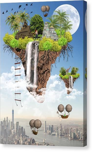 Future Idealism Canvas Print