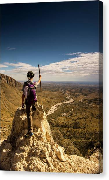 Mountain Sunrises Canvas Print - Future Leader by Aaron Bedell