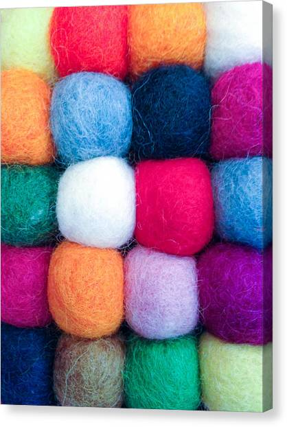 Fuzzy Wuzzies Canvas Print