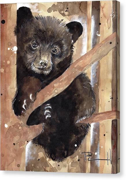 Fuzzy Wuzzy Canvas Print