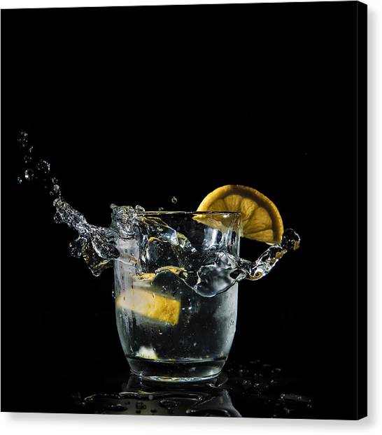 Gin Canvas Print - G And T Anyone by Nigel Jones