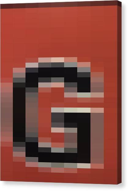 G - Context Series - Limited Run Canvas Print by Lars B Amble