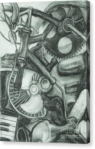 Gadgets Of Sorts Canvas Print