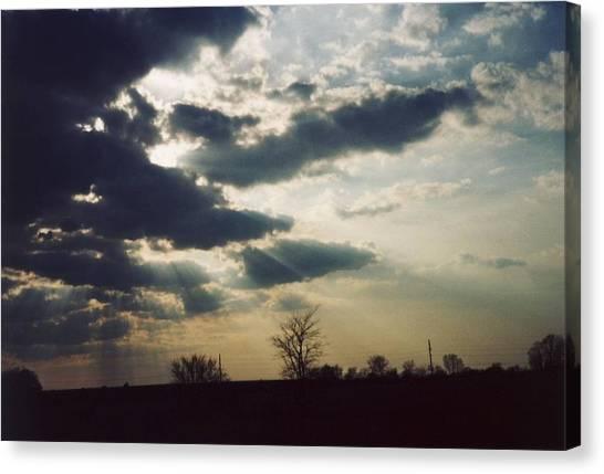 Gahanna Ohio Landscape Canvas Print by Gene Linder