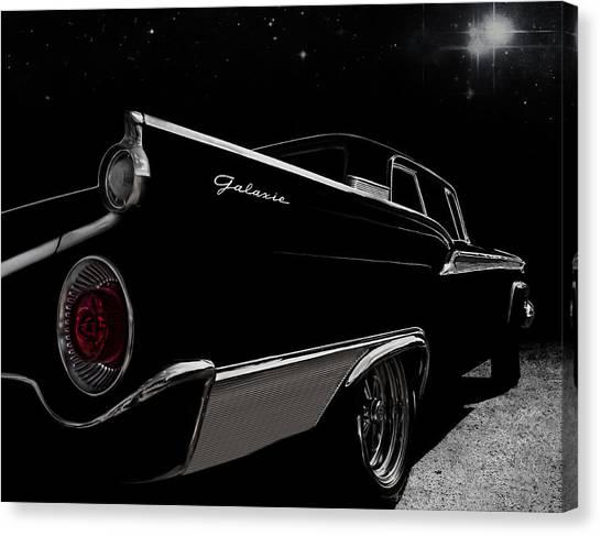 Ford Canvas Print - Galactic Cruiser by Douglas Pittman